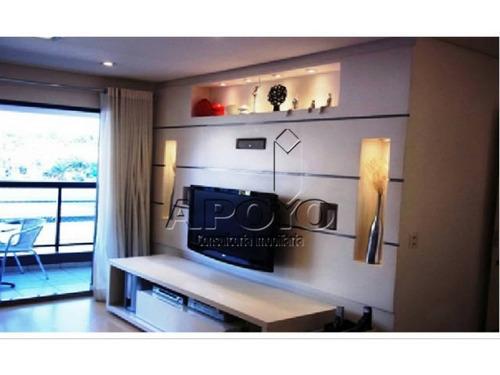 apartamentos na chácara santo antonio 104 m² - yo897