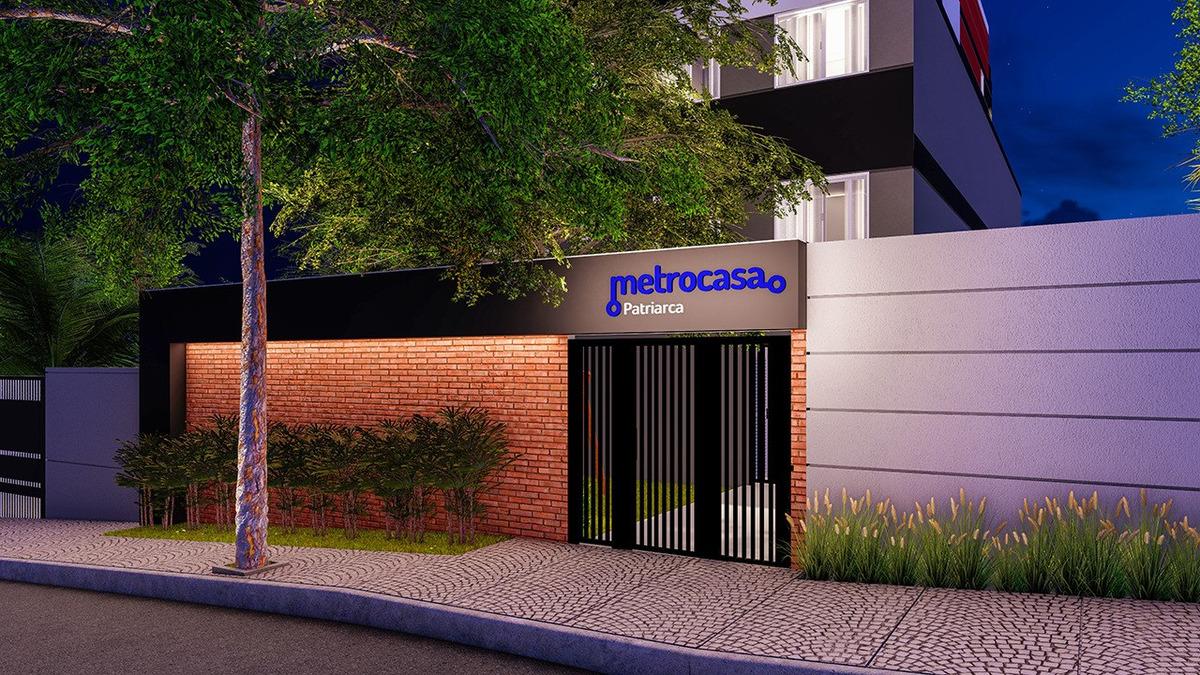 apartamentos na planta, 36m² com 02 dormitórios patriarca