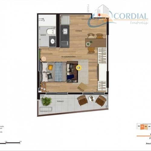 apartamentos no centro - codigo: ap0033 - ap0033