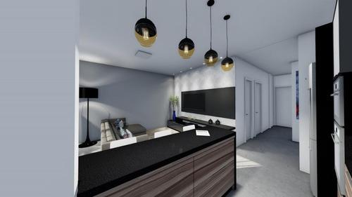 apartamentos novos 2 dormitórios 1 suíte com acabamento diferenciado na praia de palmas! - ap4257