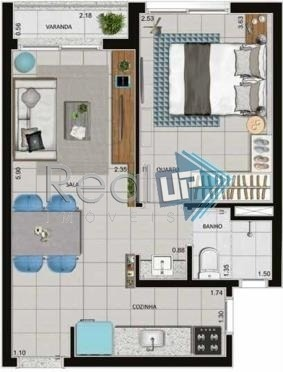 apartamentos tipo studio no centro do rio! - 18636