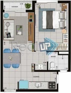apartamentos tipo studio no centro do rio! - 19216