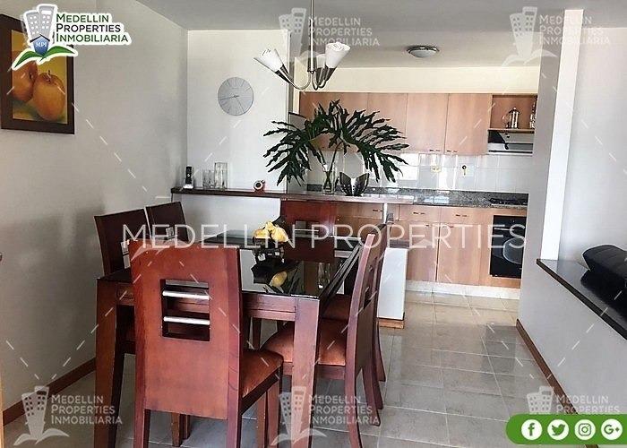 apartamentos y casas amobladas por dias en medellin cód:4031