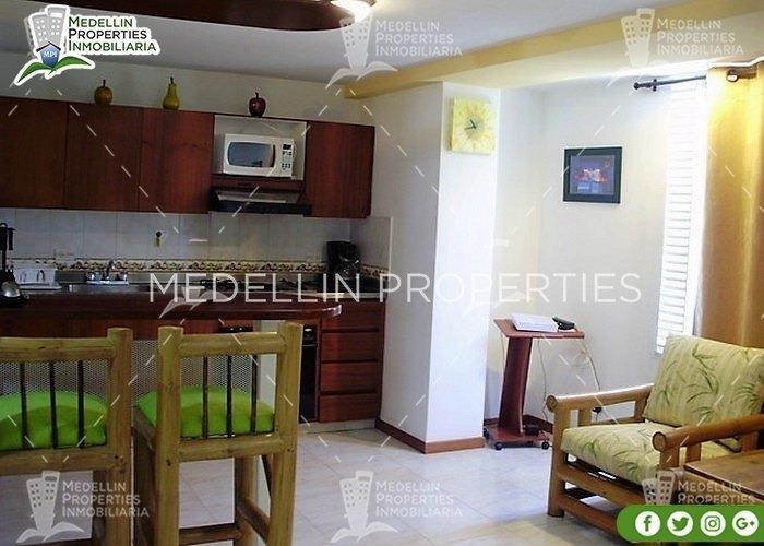 apartamentos y casas amobladas por dias en medellin cód:4157