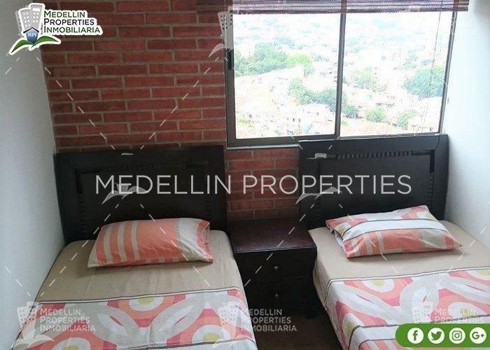 apartamentos y casas amobladas por dias en medellin cód:4276