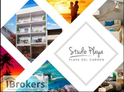 apartment studio for sale at playa del carmen. studio playa. new style of life.