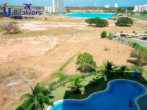 apartment with ocean and lagoon views in playa blanca