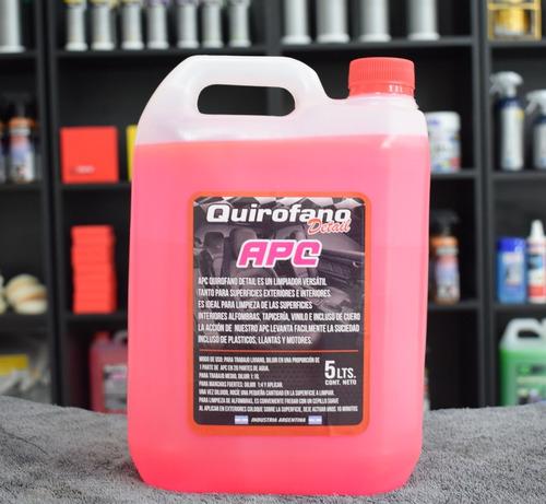 apc quirofano detail limpiador desengrasante en cuotas
