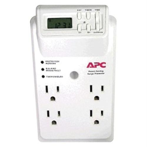 apc temporizador de ahorro de energia, 4 tomas, 120v p4gc