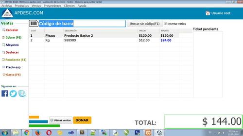 apdesc sistema para puntos de venta | soporte | ayuda