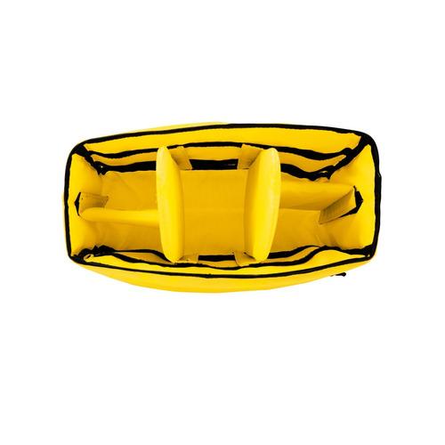 ape case cubeze 39, accesorio para cámara, negro - amarillo,
