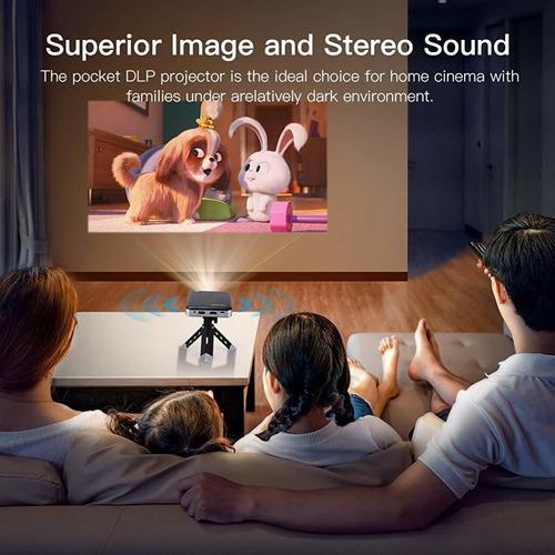apeman projector mini portable video dlp pocket projector fo