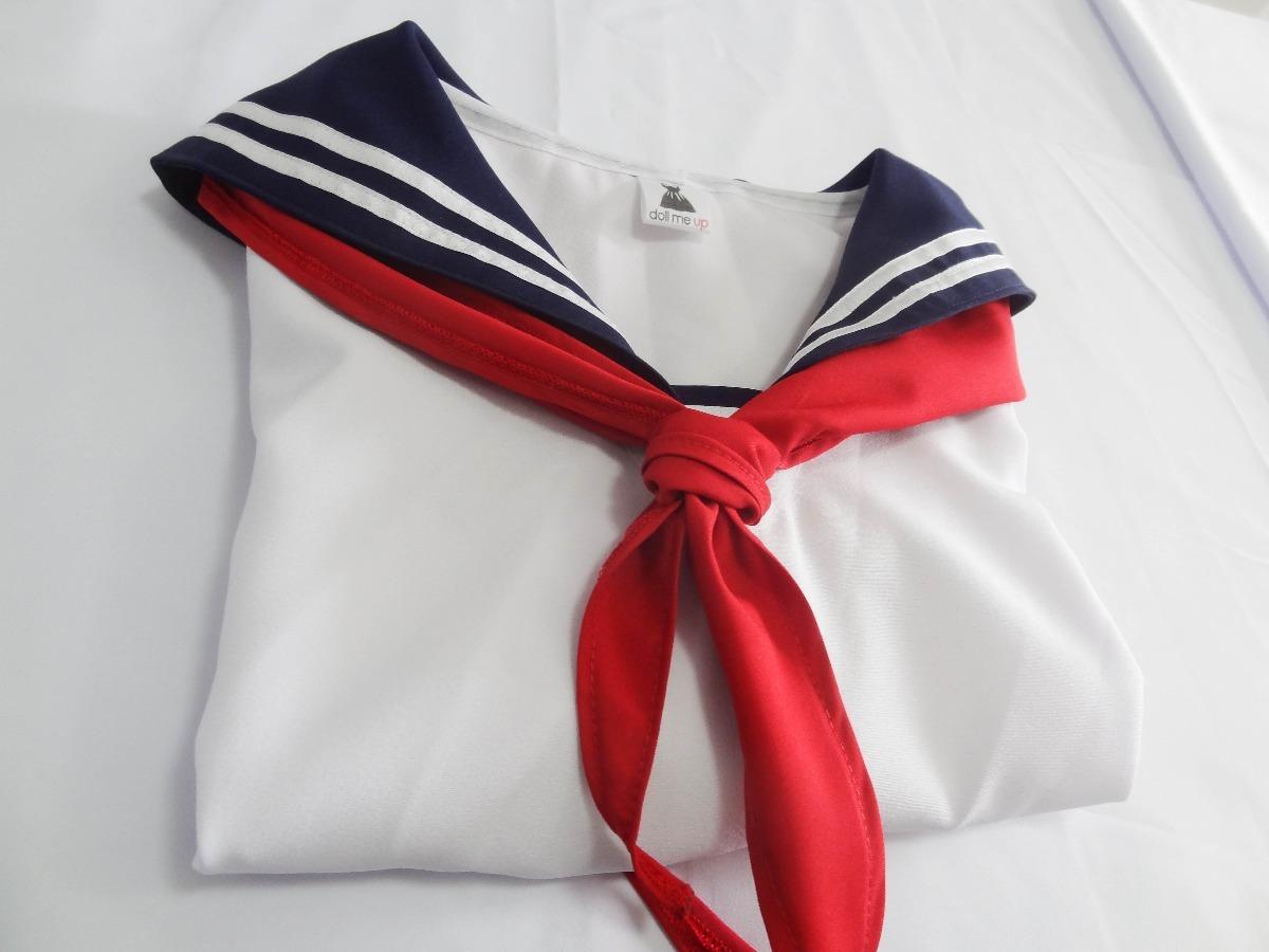 apenas blusa uniforme colegial japones seifuku himiko toga. Carregando zoom. c65e27d614b2