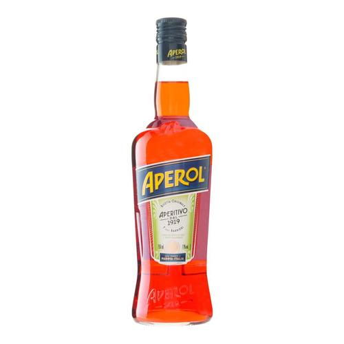 aperitivo aperol garrafa 750ml