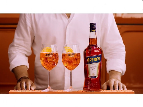 aperitivo aperol kit 6 garrafas original