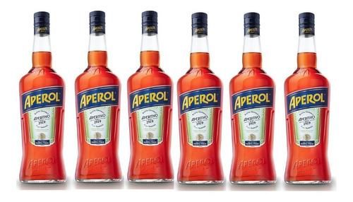 aperitivo aperol kit 6 garrafas promocao barato frete gratis