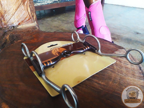 aperos para caballos de coleo frenos de acero inoxidable