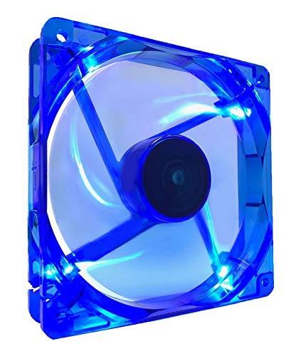 apevia caso ventilador de refrigeración 14slbl azul azul