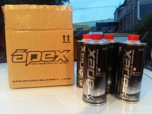 apex 8r caja 6pz aditivo elevador de octanos octane booster