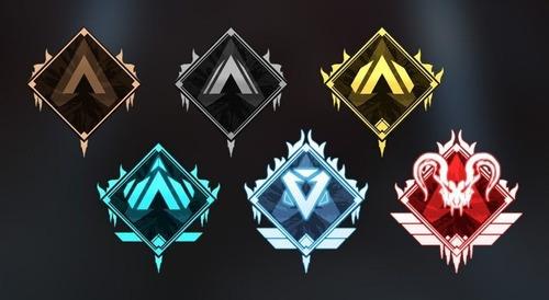 apex legends aumento de rango de clasificatoria