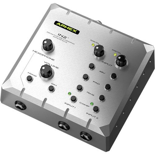 aphex in2 interface de grabacion