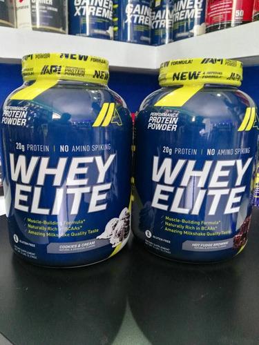 api whey elite protein   formato: 5 libras