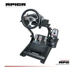 Apiga Ap2 Foldable Racing Simulator Stand Plus Gearshift Mou