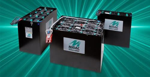 apilador  bt toyota 1.6tn 6.75mts bateria sueca nueva