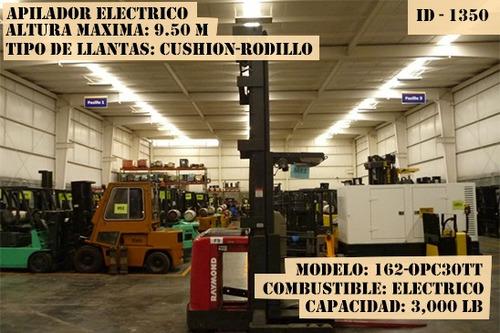 apilador electrico 3000 lb modelo 162-opc30tt garantizado !!