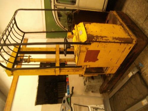 apilador electrico capimar 1000 kg torre 3,5m oportunidad!