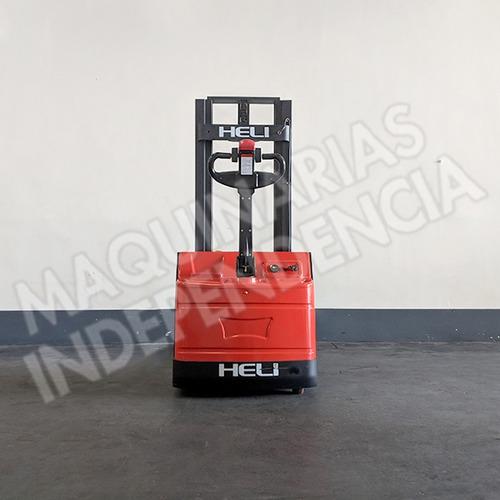 apilador electrico heli 1000 kg cdd10 bateria industrial