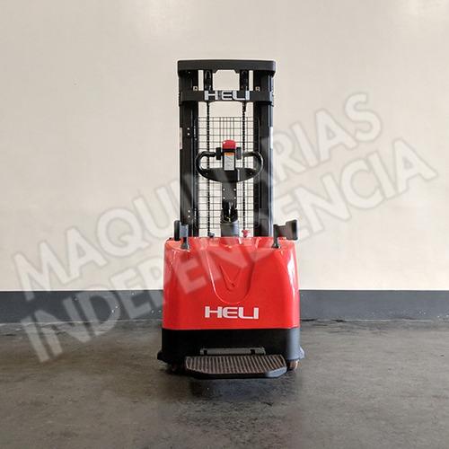 apilador electrico heli 1400 kg cdd14 plataforma 0km
