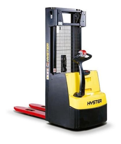 apilador eléctrico hyster 1.600 kg y 5.20 mts-origen italia