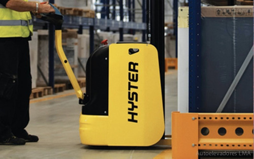 apilador eléctrico para hombre caminando 1600kg hyster s1.6