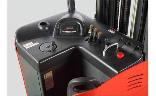 apilador eléctrico reach, modelo  rt 20-10.5