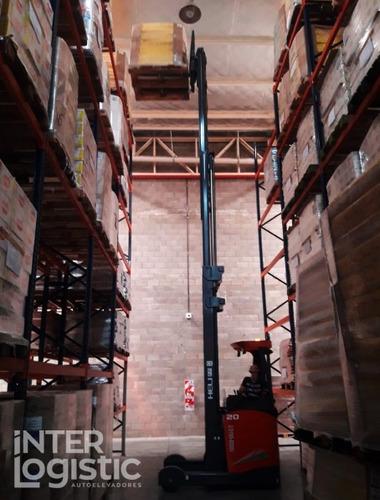 apilador elevador eléctrico retractil heli 2000 kg nuevo 0km