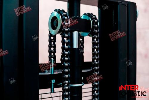 apilador elevador paletero heli eléctrico 1500 kg nuevo