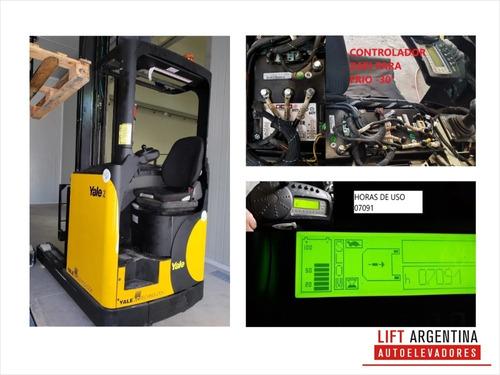 apilador pentrable p/frio yale batería/ cargador garantia