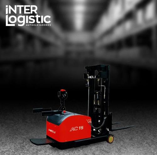 apilador retractil heli interlogistic 1500 kg nuevo 0 km