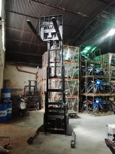 apilador sampi auto elevador eléctrico precio negociable