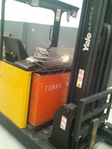 apilador yale 1600 kg 5 mts elevación con bateria y cargador