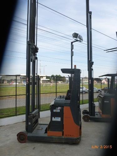 apiladora electrica still 1.4 tn elevac 6.5 metros