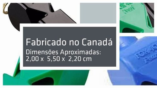 Apito Fox 40 Pearl C  Cordão - Made In Canada C  Nota Fiscal - R  24 ... afcd500cffc64