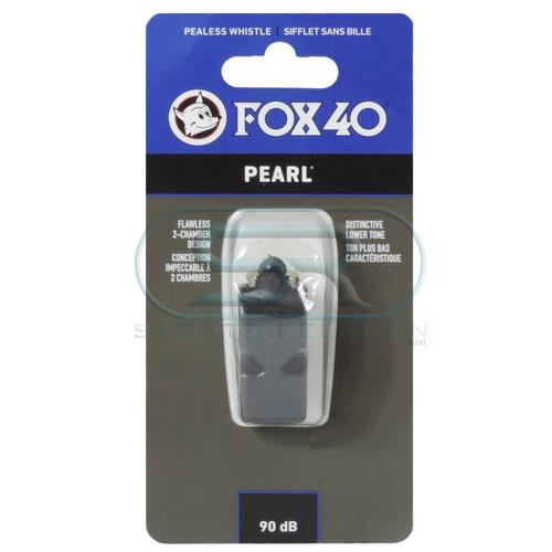 apito fox 40 pearl oficial - original c/ nf-e