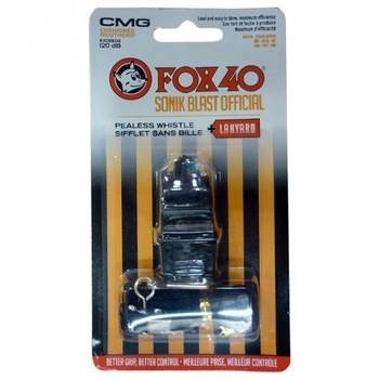 Apito Fox 40 Sonik Blast Cmg C  Cordão E Silicone. - R  25 dfd5eb64c03cd