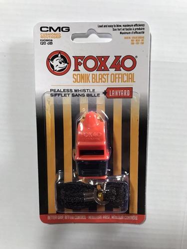 apito fox40 sonik blast cmg safety embalagem original