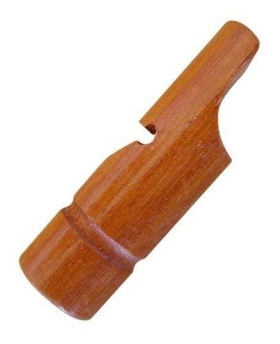 apito pio chama perdiz de madeira profissional