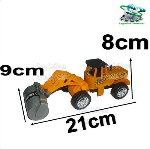 aplanadora construccion 23012 juguete  camion niño