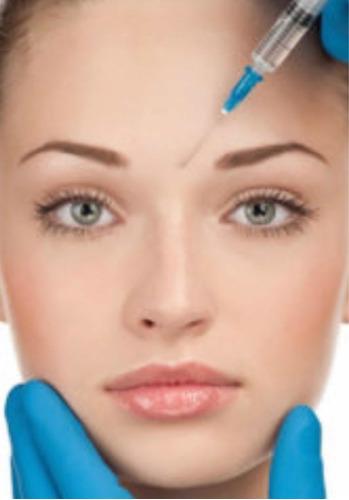 aplicación de botox dysport en entrecejo por medicos sp