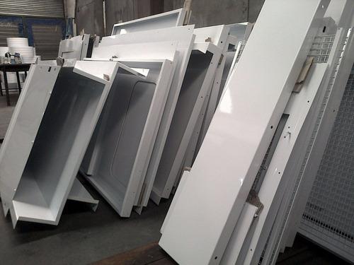 aplicacion de pintura en polvo electrostatica (epoxi)